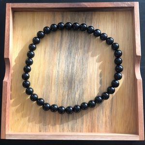Jewelry - Black Beaded Choker